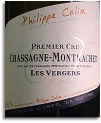 2011 Philippe Colin Chassagne-Montrachet Les Vergers