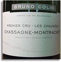 2012 Domaine Bruno Colin Chassagne-Montrachet Les Chaumees