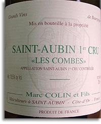 2012 Domaine Marc Colin Saint-Aubin Les Combes