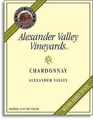 2012 Alexander Valley Vineyards Chardonnay Wetzel Family Estate Alexander Valley