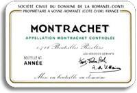 2010 Domaine de la Romanee-Conti Montrachet