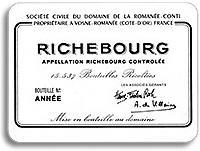1995 Domaine de la Romanee-Conti Richebourg