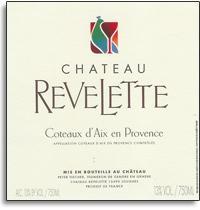 2008 Chateau Revelette Coteaux d'Aix Blanc