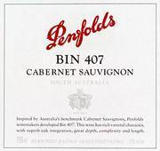 2010 Penfolds Wines Cabernet Sauvignon Bin 407 Barossa Valley