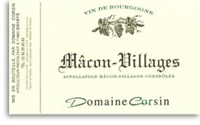 2012 Domaine Corsin Macon Villages