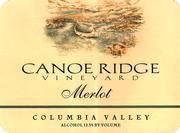 Vv Canoe Ridge Vineyard Merlot Estate Grown Columbia Valley