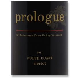 2011 Anderson's Conn Valley Vineyards Merlot Prologue North Coast