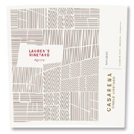 2011 Casarena Malbec Lauren's Single Vineyard Agrelo Mendoza