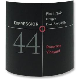 2009 Expression 44 Pinot Noir Roserock Vineyard Eola Amity Hills