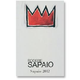 """2012 Podere Sapaio """"Sapaio"""" Bolgheri Super Tuscan"""
