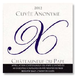 2012 Xavier Vignon Chateauneuf-du-Pape Cuvee Anonyme