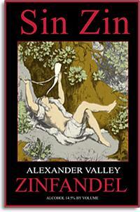 2010 Alexander Valley Vineyards Zinfandel Sin Zin Alexander Valley