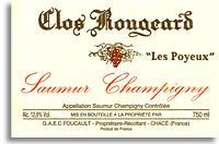 2010 Clos Rougeard Saumur Champigny Les Poyeux