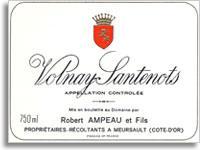 1976 Domaine Ampeau Volnay Santenots Premier Cru