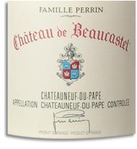 2010 Chateau De Beaucastel Chateauneuf Du Pape