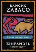 2013 Rancho Zabaco Zinfandel Heritage Vines Sonoma County