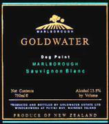 2013 Goldwater Estate Sauvignon Blanc Marlborough Dog Point
