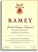 2002 Ramey Wine Cellars Cabernet Sauvignon Jericho Canyon Vineyard Napa Valley