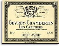 2010 Domaine/Maison Louis Jadot Gevrey-Chambertin Les Cazetiers