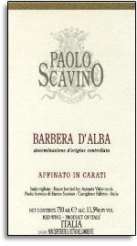 2009 Paolo Scavino Barbera d'Alba