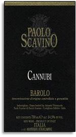 2010 Paolo Scavino Barolo Cannubi