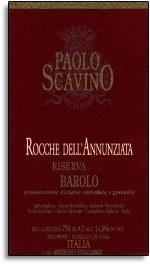 2000 Paolo Scavino Barolo Rocche dell'Annunziata Riserva