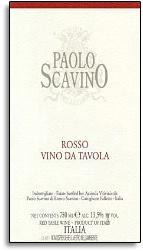 2012 Paolo Scavino Rosso Di Tavola