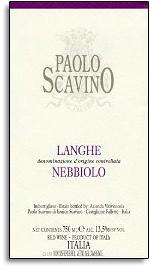 2012 Paolo Scavino Langhe Nebbiolo Rosso