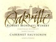 2011 Robert Mondavi Winery Cabernet Sauvignon Oakville District