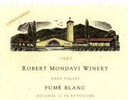 2009 Robert Mondavi Winery Fume Blanc Napa Valley