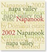 2005 Dominus Estate Napanook Red Wine Napa Valley