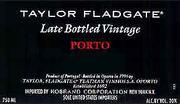 1999 Taylor Fladgate Late Bottled Vintage Port