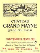 2013 Chateau Grand Mayne Saint-Emilion