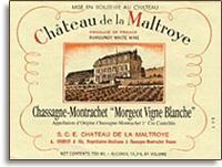 2014 Chateau de la Maltroye Chassagne-Montrachet Morgeot Vigne Blanche