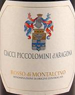 Vv Ciacci Piccolomini Daragona Rosso Di Montalcino