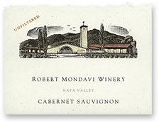1996 Robert Mondavi Winery Cabernet Sauvignon Napa Valley