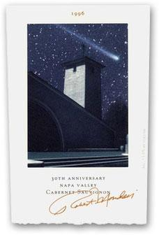 1996 Robert Mondavi Winery Anniversary Cabernet Sauvignon