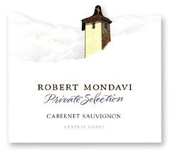 2011 Robert Mondavi Winery Cabernet Sauvignon Private Selection Central Coast