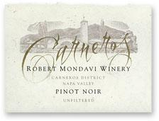 2012 Robert Mondavi Winery Pinot Noir Carneros