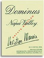 2001 Dominus Estate Red Wine Napa Valley