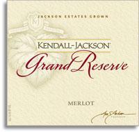 2010 Kendall-Jackson Merlot Grand Reserve Sonoma/Napa Counties