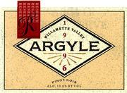 2009 Argyle Winery Pinot Noir Reserve Willamette Valley
