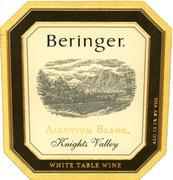 2007 Beringer Vineyards Alluvium Blanc Knights Valley