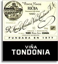 1970 R. Lopez de Heredia Vina Tondonia
