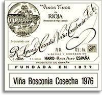 2003 R. Lopez de Heredia Vina Bosconia Gran Reserva Rioja