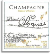 2002 Pascal Doquet Blanc De Blancs Grand Cru Le Mesnil Sur Oger Vieilles Vignes Brut