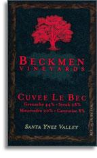 2008 Beckmen Vineyards Cuvee Le Bec Santa Ynez Valley