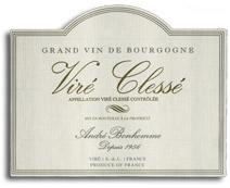 2010 Domaine Andre Bonhomme Vire Clesse