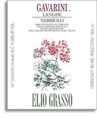 Vv Elio Grasso Nebbiolo Gavarini Langhe