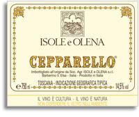2008 Isole E Olena Cepparello Toscana Rosso